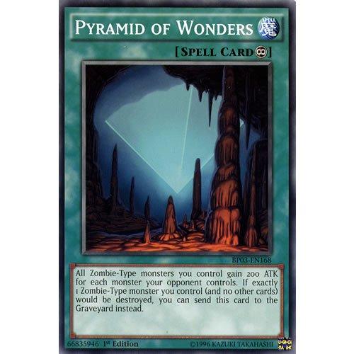"Yu-Gi-Oh!: BP03 EN168 Unlimited Ed Pyramid of Wonders gemeinsamen-Karte (Monster League-Battle Pack Yu-Gi-Oh Einzelkarte "")."