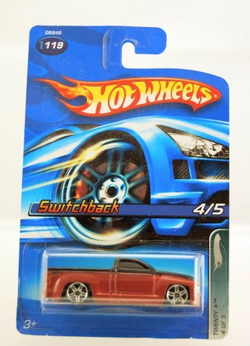 Hot Wheels - 2005 - Twenty + Series - Switchback - #4 of 5 Cars - #119 - Red & Black - Limited Edition - Collectible - 1