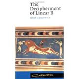 The Decipherment of Linear B (Canto) ~ John Chadwick