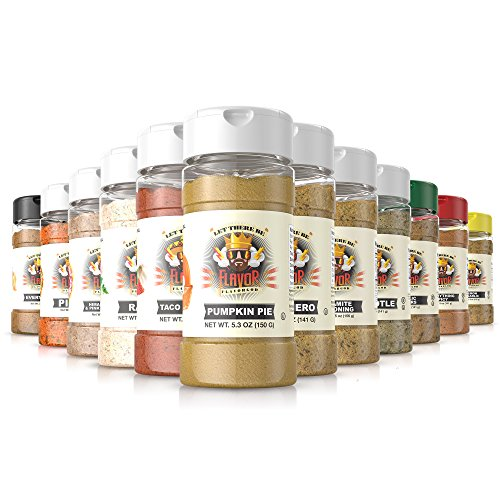 #1 Best-Selling 5Oz. Flavor God Seasonings (12 Bottle Combo Pack)