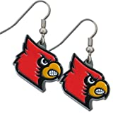 NCAA Louisville Cardinals Dangle Earrings