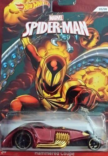 2014 Hot Wheels Marvel Spiderman Hammered Coupe 05/08 - 1
