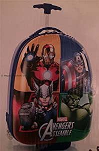 Heys Disney AVENGERS Luggage Case/Suitcase Childrens Girls Boys Cabin Rolling Trolley Bag from Heys