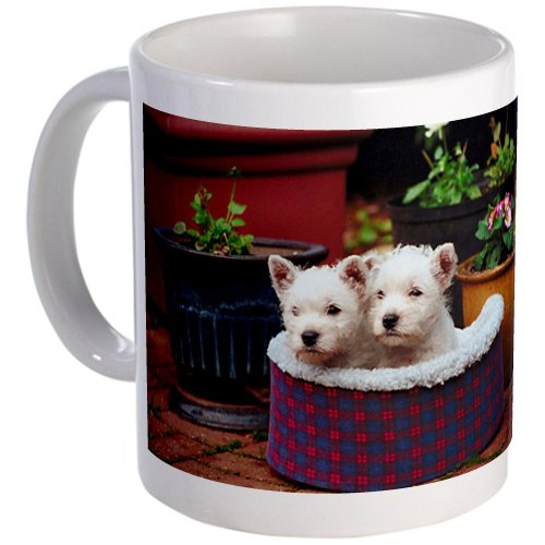 Cafepress West Highland White Terrier Puppies Mug - Standard