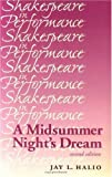 A Midsummer Night's Dream (Shakespeare in Performance) (0719062217) by Jay L. Halio