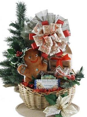 Gingerbread Holiday HANUKKAH Dog Gift Basket