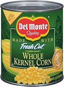 Del Monte Corn Whole Kernel Golden Sweet - 12 Pack