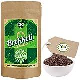 Brokkolisamen zum Keimen - 500g - BIO - verlässlich hoher Sulforaphangehalt - kurze Keimzeit - für leckere, vitalstoffreiche, frische Sprossen & Keimlinge