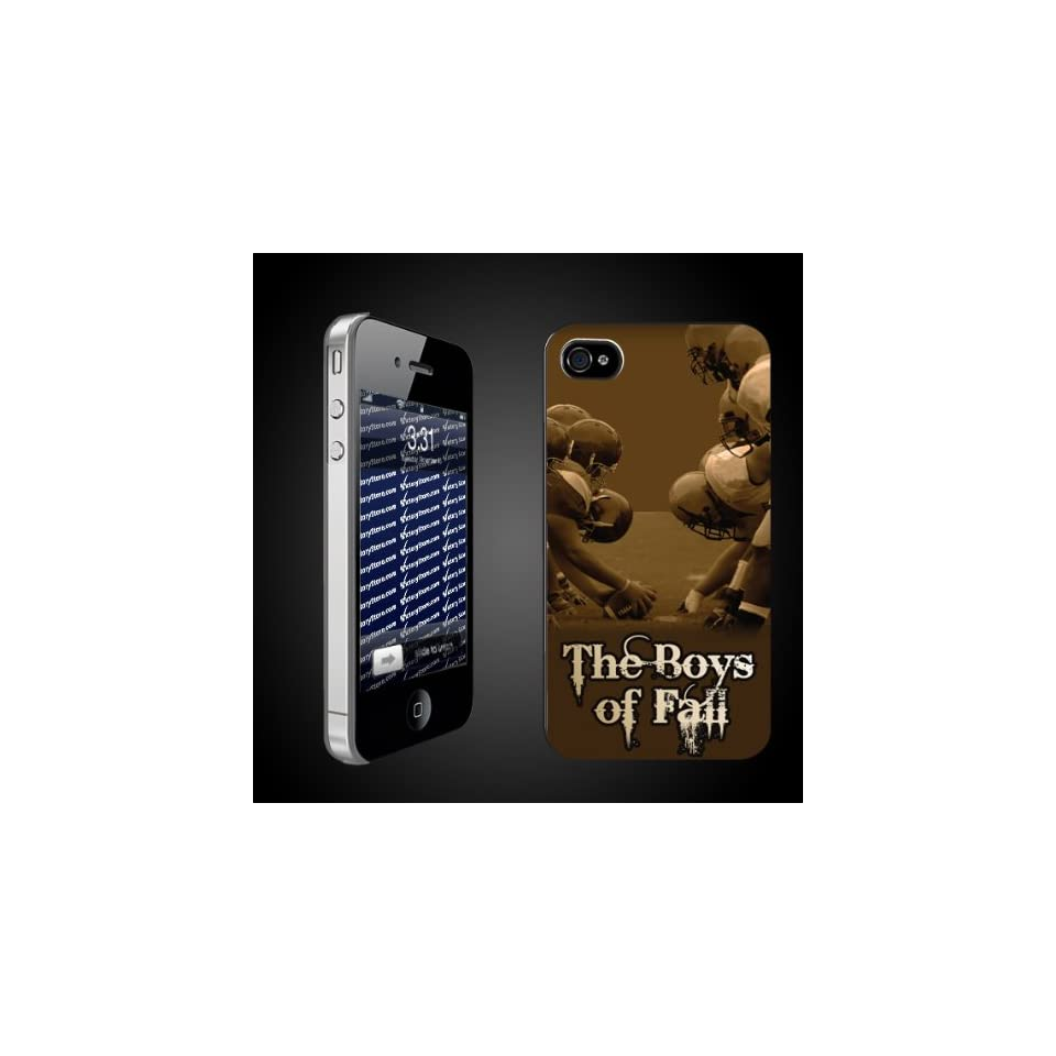 Football iPhone Design The Boys of Fall   iPhone Hard Case   CLEAR Protective iPhone 4/iPhone 4S Case