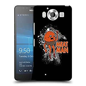 Snoogg Meat Man Designer Protective Back Case Cover For NOKIA LUMIA 950