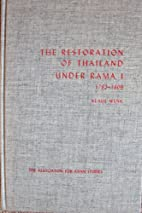 Restoration of Thailand Under Rama I…