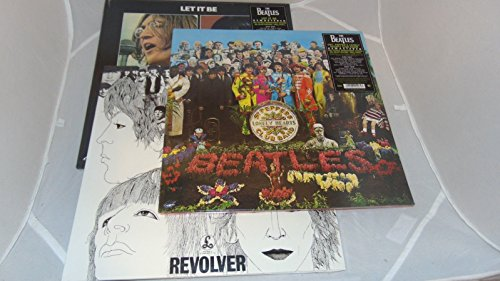 The Beatles - The Beatles Stereo Vinyl (3 - Pack) Heavyweight 180g Vinyl Remastered - Revolver, Let It Be, Sgt Pepper - Zortam Music