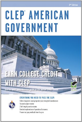 CLEP American Government w/ Online Practice Exams