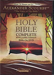 ALEXANDER SCOURBY, HOLY BIBLE ON 62 CD's (OLD and NEW TESTAMENTS)