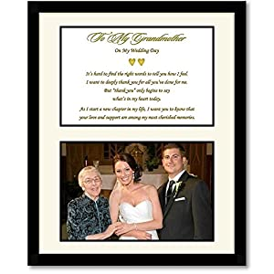 You Wedding Gift for Grandmother From Bride (Granddaughter) or Groom ...