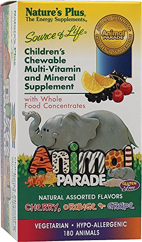 Natures Plus - Childrens - Animal Parade Assorted 180