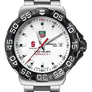 Stanford University TAG Heuer Watch - Mens Formula 1 Watch with Bracelet by TAG Heuer