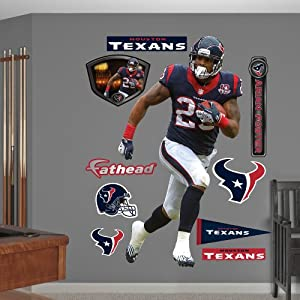 NFL Houston Texans Arian Foster Running Back Wall Graphics by Fathead