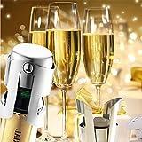 LLSai- Universal Stainless Steel Champagne Wine Bottle Stopper