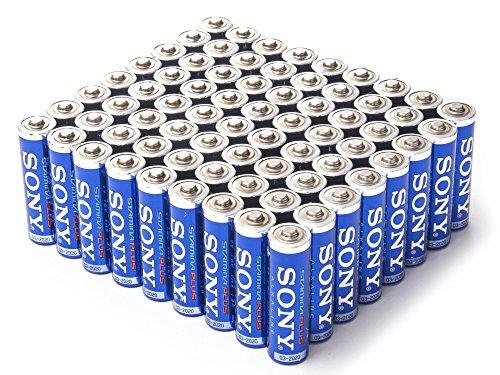 Sony Stamina Plus Alkaline AA, 72 Pack