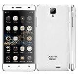 """OUKITEL K4000 Pro 4G FDD-LTE(より広い4Gバンド) SIMフリー 2スロット搭載 MTK6735P 64-bit クアッドコア 2.5D 5.0"""" HD IPS 液晶Android 5.1搭載 2G RAM+16G ROM 500万(appleカメラ)+1300万画素カメラ Bluetooth・GPS・Smart gesture・ Hotknot・OTG・4600mAh大容量バッテリー 急速充電 電力モード CNC金属フレーム日本語対応 (ホワイト)"""