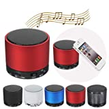 Mini BeatBox Bluetooth Stereo Speaker For iPhone Smartphone Device Option: Blue