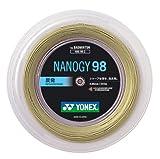 ヨネックス(YONEX) バドミントン ストリング NANOGY98 ロール 200m コスミックゴールド NBG982