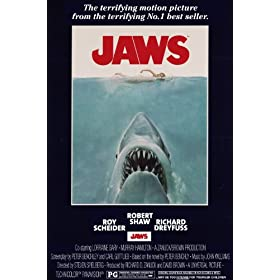 NMR 93098 Jaws Poster Decorative Poster
