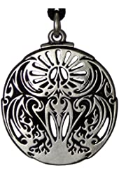 Mythical Rite of the Phoenix Fire Bird Pendant Alchemy Hermetic Jewelry