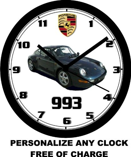 1996 PORSCHE 993 WALL CLOCK-Free USA Ship! maisto 1 18 1963 dodge 330 retro muscle car diecast model car toy new in box free shipping 31652