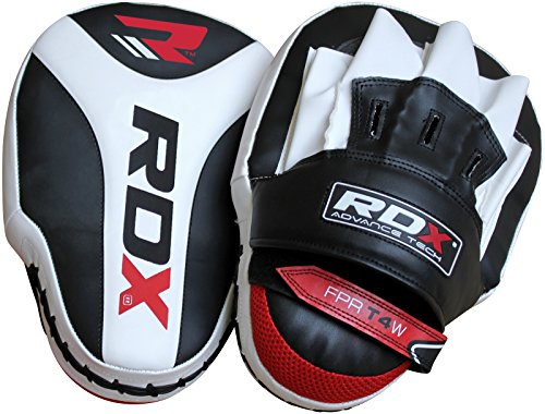 RDX-Boxing-Focus-Mitts-Punching-Hook-Jab-Pads-MMA-Training-Target-Thai-Strike-Kick-Shield