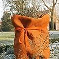 Videx-Winterschutz Jute-Gewebe, robustes gefärbtes Gewebe, terrakotta, 105 x 500cm von Videx auf Gartenmöbel von Du und Dein Garten