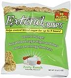 ExtendCrisps, Zesty Ranch, 1.1-Ounce Bags (Pack of 5)
