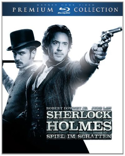 Sherlock Holmes: Spiel im Schatten (Premium Collection) [Blu-ray]
