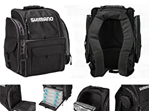 Shimano Blackmoon Medium Fishing Backpack - Model: BLMBP270BK by Shimano