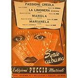 Passione Creola ( beguine ) - La limonera ( rumba ) - Manola ( beguine ) - Marianela ( rumba )