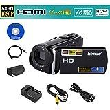 Kenuo® HD 1080P 16MP Caméscope numérique DV caméra vidéo numérique 3.0 TFT LCD écran avec 16x Zoom DV