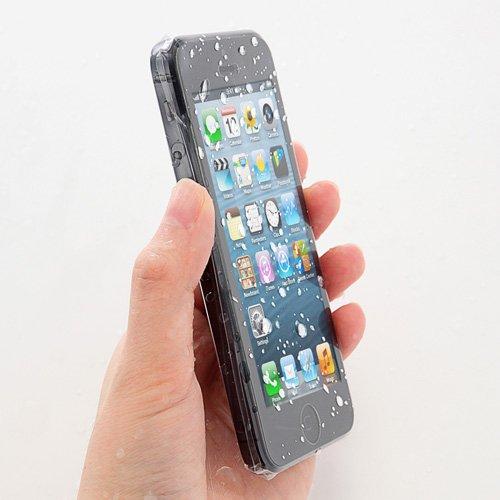 サンワダイレクト iPhone5防水スキンフィルム 簡易使い捨てタイプ 3枚入り 200-LCD011