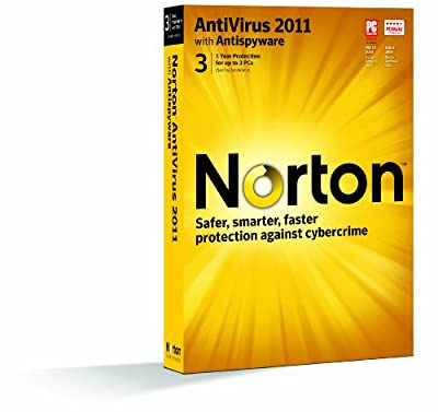 Norton Antivirus 2011 - 1 User/3 Pc