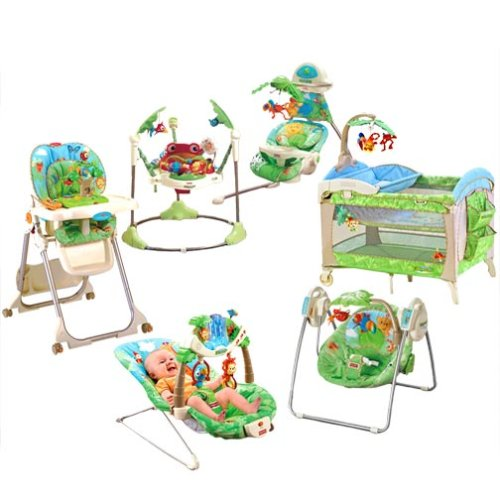 Amazon com  Fisher Price Rainforest Collection  Baby