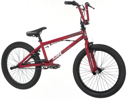 Mongoose Boy's Scan R40 Freestyle Bike,  20-Inch, Crimson