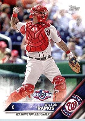 2016 Topps Opening Day #OD-34 Wilson Ramos Washington Nationals Baseball Card
