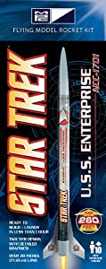 MPC Star Trek U.S.S Enterprise 1701-A Rocket