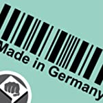 Made in Germany Barcode Aufkleber Dec...