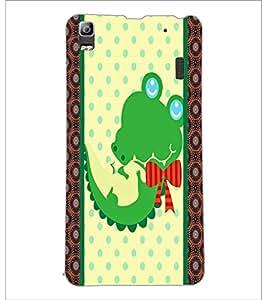 PrintDhaba Cartoon D-5808 Back Case Cover for LENOVO A7000 (Multi-Coloured)