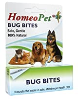 HomeoPet BUG BITE Homeopathic Insect Bug Bite Relief Skin Healing Dog Cat 15 ml