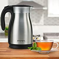 Rosewill RHKT-17001 1500W Stainless Steel Double Wall Vacuum Insulated Electric Kettle