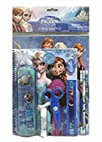Disney Frozen Elsa Anna & Olaf 11 Pcs Value Pack School Supplies Gift Set with Sticker Pad