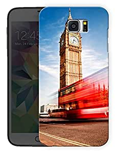 "Humor Gang London Big Ben Love Printed Designer Mobile Back Cover For ""Samsung Galaxy Note 5"" (3D, Matte, Premium Quality Snap On Case)"