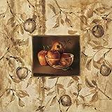 Manzanas en la mesa by Tamaris, Raul - Fine Art Print on PAPER : 27 x 27 Inches